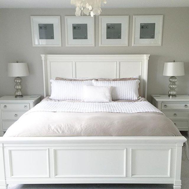 Prentice Nightstand, White #bedroomfurniturecollections