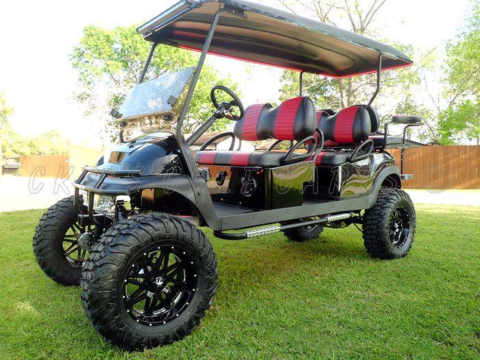 Custom Stretched Limo Golf Carts Gallery Golf Carts Golf Cart Wheels Golf