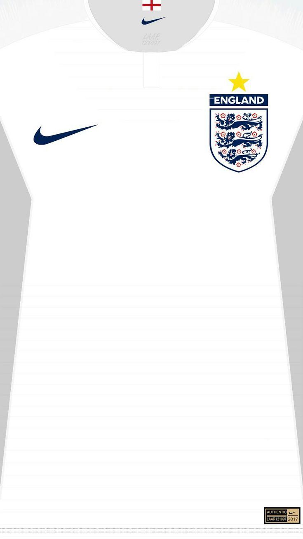 England 18-19 kit home ?