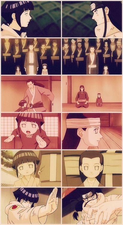 Naruto » <3 » Collage | Hinata and Neji's childhood | #hinata #neji