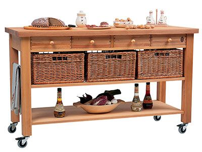 john lewis kitchen accessories wooden butchers trolley lewis kitchen storage 4907