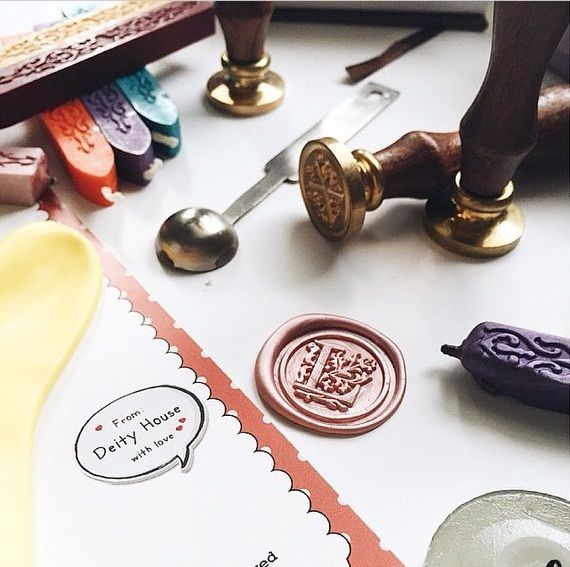 Wax Seal Stamps and Candles