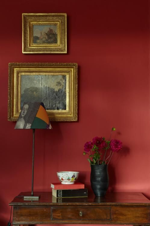 Farrow & Ball's classic Incarnadine red paint, £43.50 for 2.5 litres