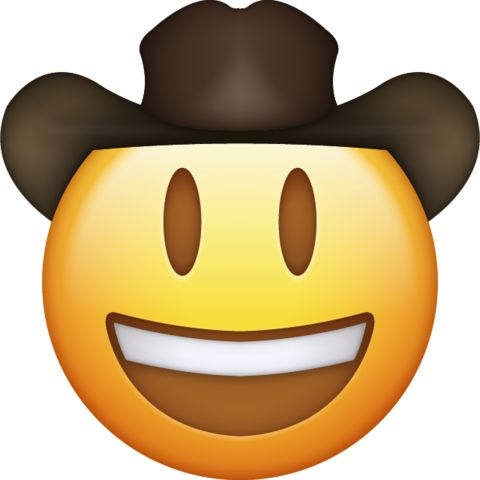 Emoji Icon Cowboy emoji