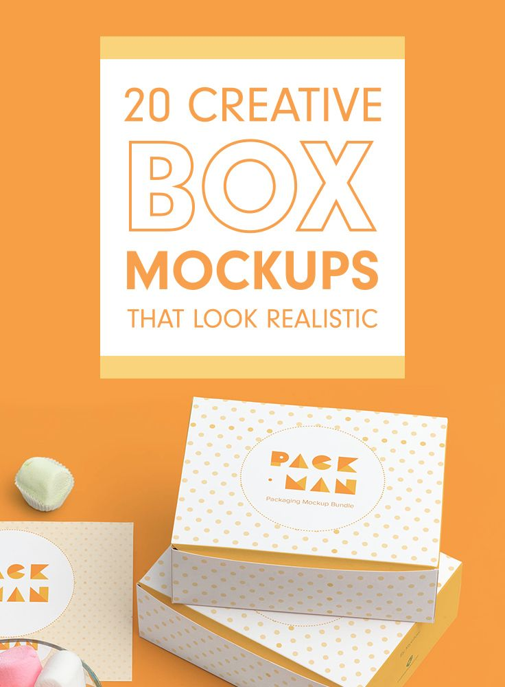 20 Creative Box Mockups That Look Realistic Box Mockup Creative Box Box Packaging Design