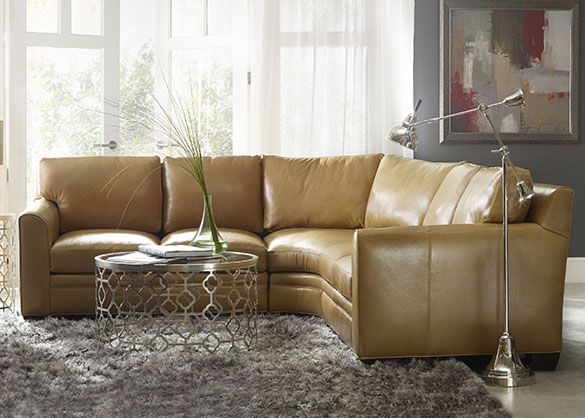 Make A Statement With Bradington Young Furniture And These Beautiful  Sectionals To Complete Your Living Room.