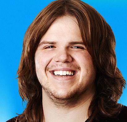 Caleb Johnson AGE: 22 HOMETOWN: Asheville, NC. American Idol ...AWESOME!!
