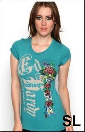 #www.designernick.com   ED Hardy Womens T-shirts 018  Women's T-Shirts #2dayslook #T-Shirts #fashion #new www.2dayslook.com