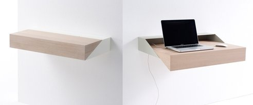 If you're looking for a minimalist desk, you can't get much more minimal than this.
