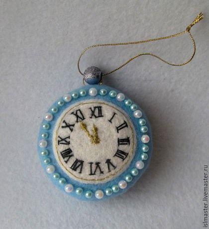 Ёлочная игрушка Часы