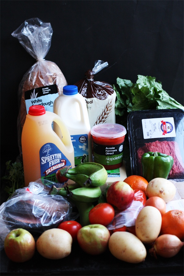 What You Can Do With $66 Worth Of Groceries in Sydney – Aussie Farmers Direct And Amex Connect