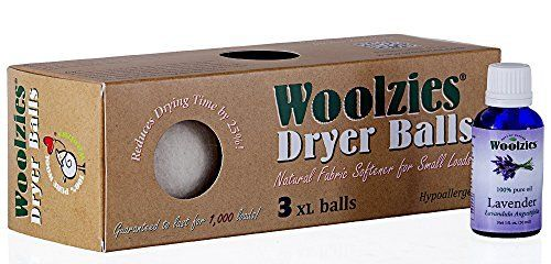 These really reduce static and my laundry smells great ( I add a few drops of lemon essential oil along with the lave vender)! Woolzies 3 Pack XL Wool Dryer Balls Natural Fabric Laundry Softener + Lavender Pure Essential Oil Combo, http://www.amazon.com/dp/B00MJ3FNMQ/ref=cm_sw_r_pi_awdm_TdNLvb0VYHJMG