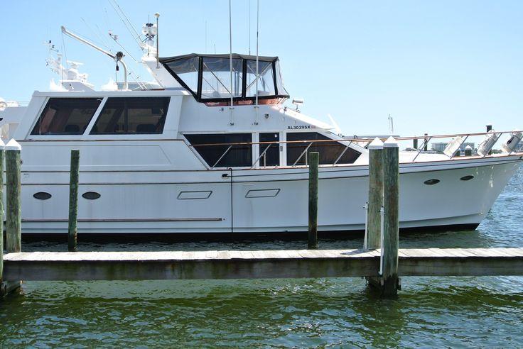 1989 Ocean Alexander 48 Flush Deck Power Boat For Sale - www.yachtworld.com