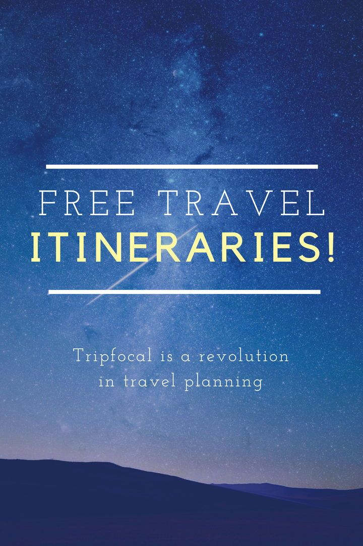 If Youre Looking For A Free Travel Itinerary Template Design Or Planner You NEED To Sign Up Tripfocal