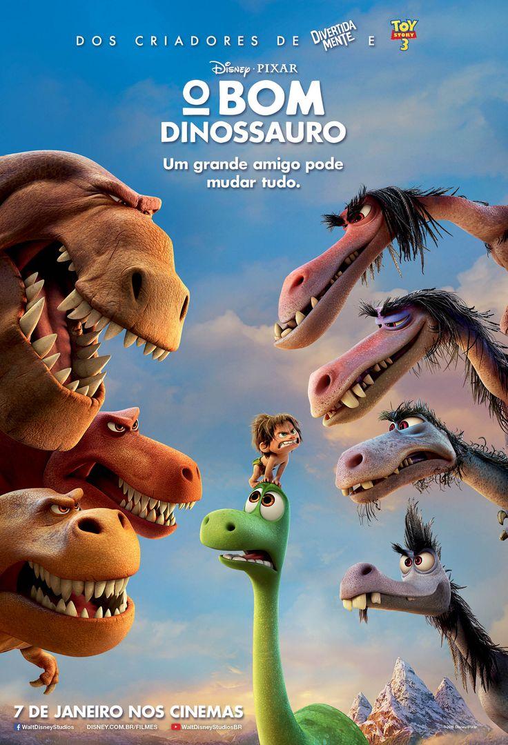 """""""O Bom Dinossauro"""", estreia dia 07/01/2016."""