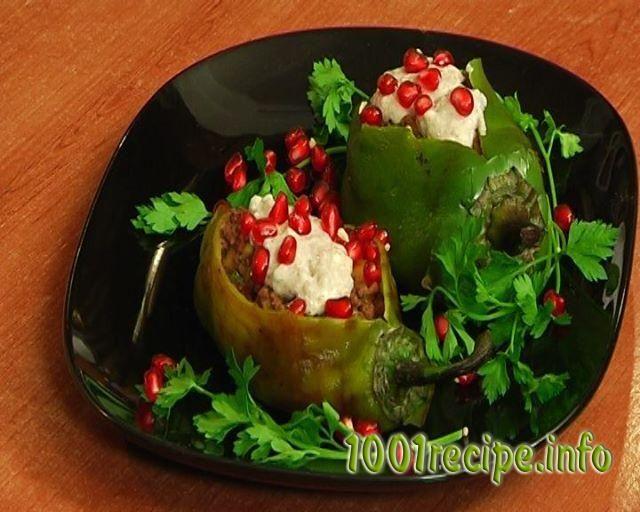 Recipe-Stuffed pepper   Meat dishes