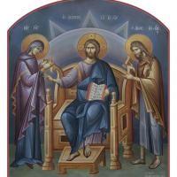 Byzantine iconography: Michalis Alevizakis| Orthodox Painting Art| Iconographer