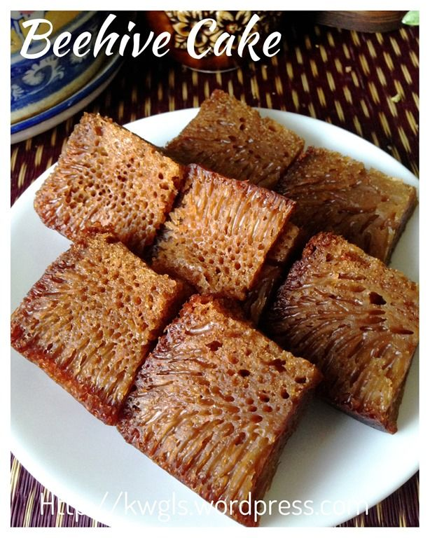 Brown sugar Beehive cake