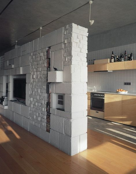 Private apartment by Alexander Brodsky