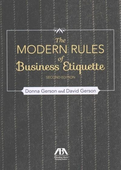 A guide to professional etiquette counsels readers on how to forge successful, productive relationships with business associates, including such topics as handling conflicts, communicating effectively