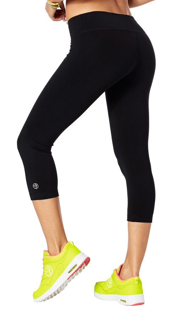 Perfect Capri Leggings | Zumba Wear  SIZE L; also need many many pairs of these!!