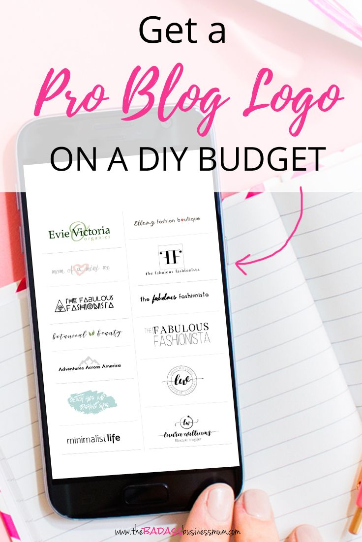If you've got no budget it can be hard to make your Blog look nice. Which is why Blog Logo Design templates are a brilliant solution.