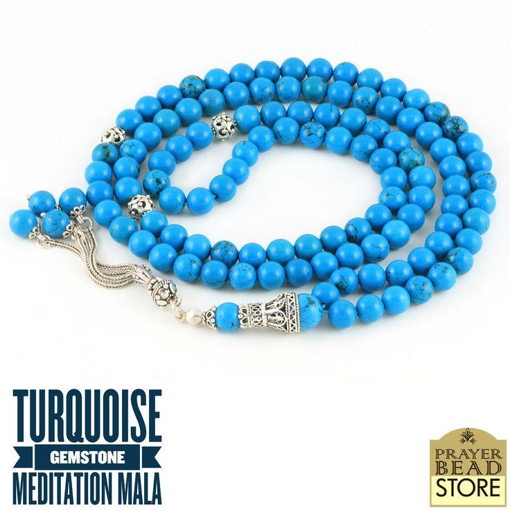 Turquoise Mala #meditation #mala #turquoise
