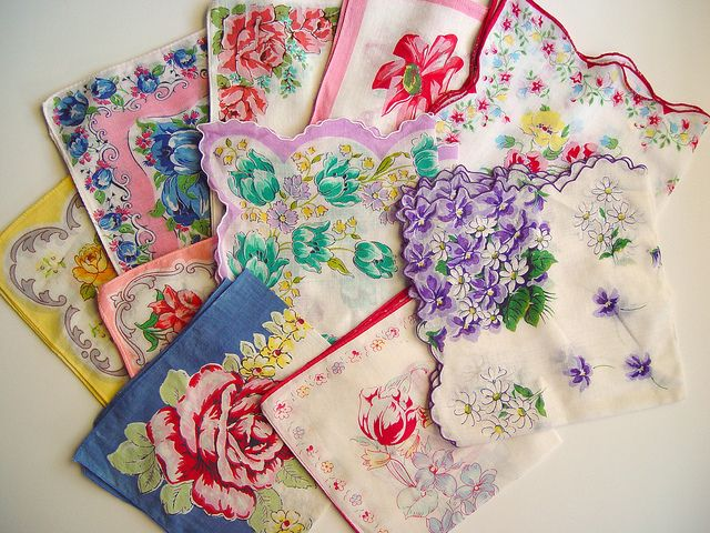 Hankies may seem like an outdated item in today's world. However, we've gathered some great ways to repurpose them in these stylish design projects!