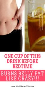 One Cup of This Drink Before Bedtime Burns Belly Fat Like Crazy!!!