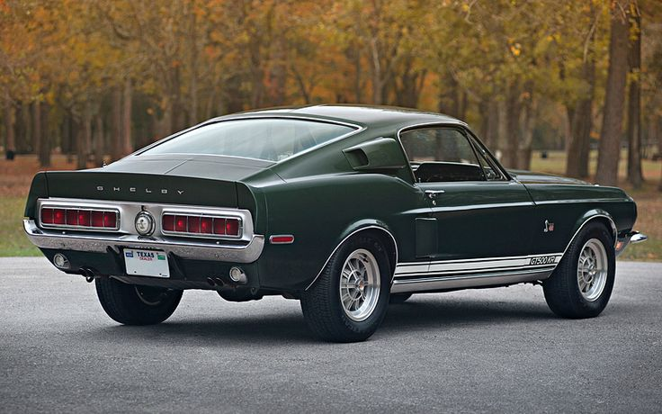 1968 Ford Mustang Shelby Gt500 Kr Awesome Merican Muscle