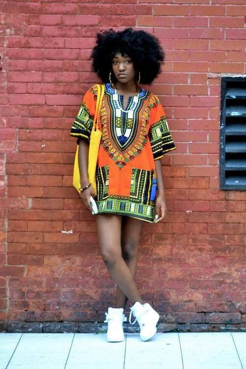 Afro dance dress style
