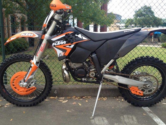 MX1 Australia - 2009 KTM 200 EXC