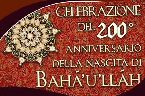Fede Bahá'í, a Reggio Calabria la celebrazione del bicentenario della nascita di Bahá'u'lláh