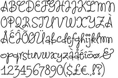 Letters en cijfers als tekst op je taart en banket zijn goed te oefenen met dit ontwerp. Heb je zelf iets lekkers in de oven gebakken en wil je daar