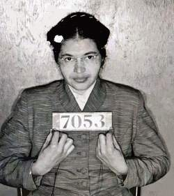 Rosa Parks and true hero