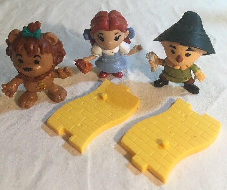 Wizard Of Oz McDonald's Happy Meal Toys 75th Anniv. Dorothy Scarecrow Lion Road #McDonalds