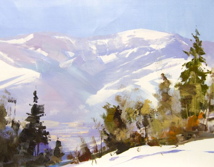 205 Best Landscape Paintings, Abstract Landscapes