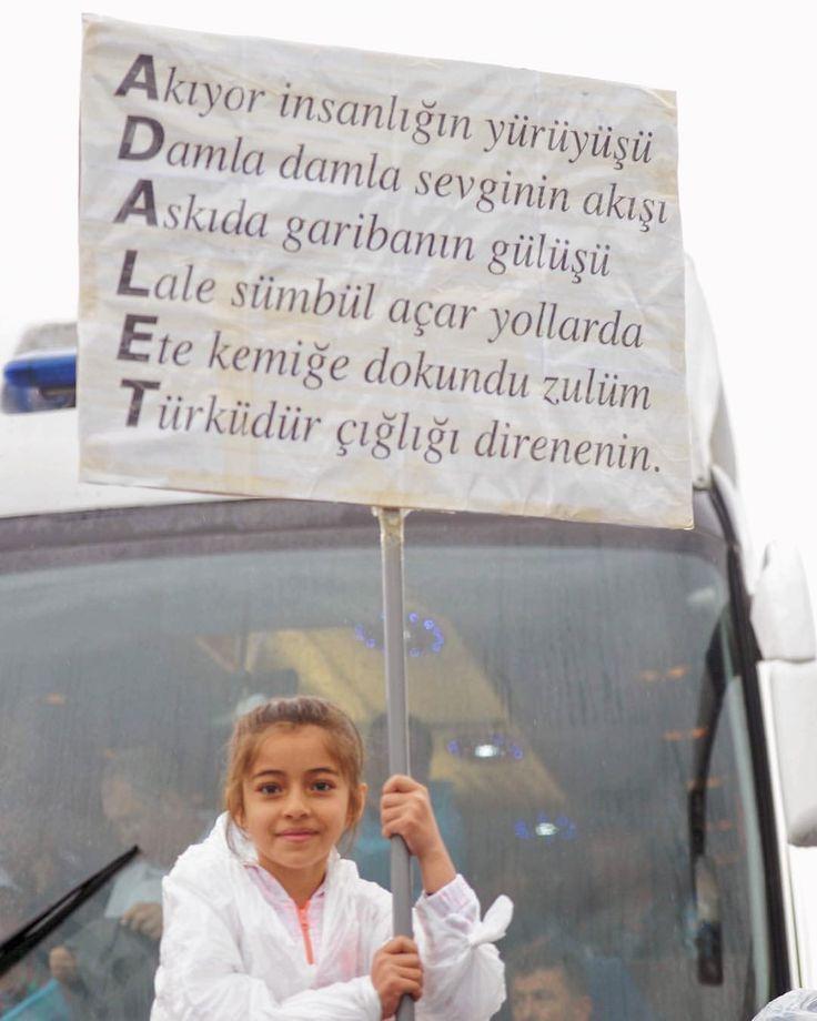 """Instagram'da Kemal Kılıçdaroğlu (@kilicdaroglu): """"Adil bir düzeni hep birlikte getireceğiz! #AdaletYürüyüşü"""""""