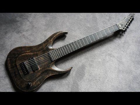 Hapas Guitars - The Making of Kayzer One - 27 Inch 7 String Baritone Guitar - http://audio.tronnixx.com/uncategorized/hapas-guitars-the-making-of-kayzer-one-27-inch-7-string-baritone-guitar/