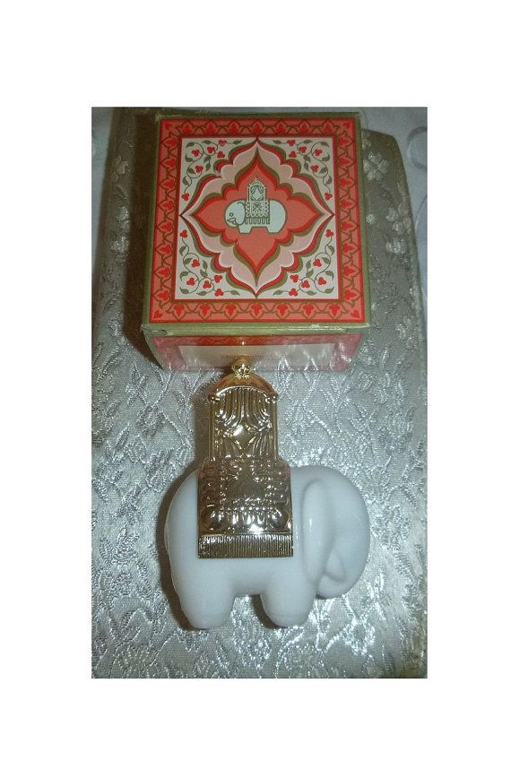 Check out this item in my Etsy shop https://www.etsy.com/ca/listing/581056909/vintage-avon-royal-elephant-perfume