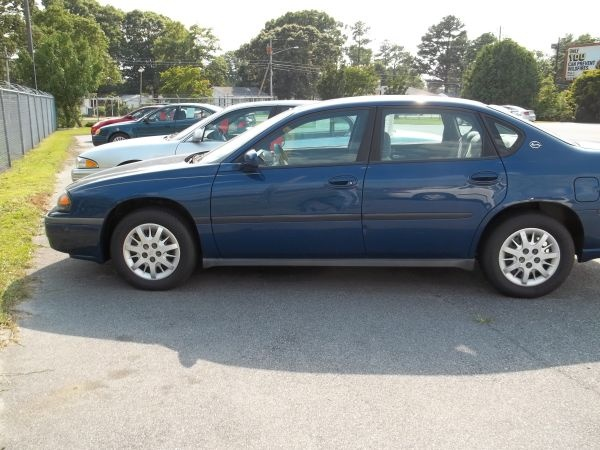 2003 CHEVY IMPALA - $5995 (WALLACE NC)     ---------------------------------------------------      156K MILES   LOW LOW PAYMENTS.....   NO CREDIT CHECKS   CREDIT NO PROBLEM   $ DOWN AND WE FINANCE ON THE LOT     SHANE 910 271 8802Chevy Impala