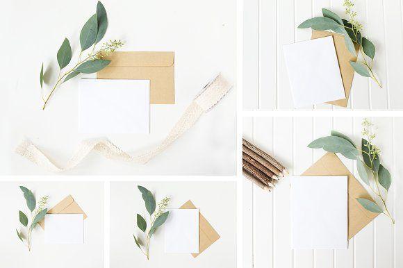 Natural Stationery Mockup Bundle by DaintyDarlingCo on @creativemarket | PSD Mockup | High Resolution Mockup |