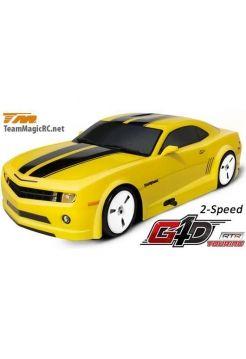 Туринг 1/10 нитро G4D Rubber Tyre RTR (без свечи!) (2 speed)-CMR