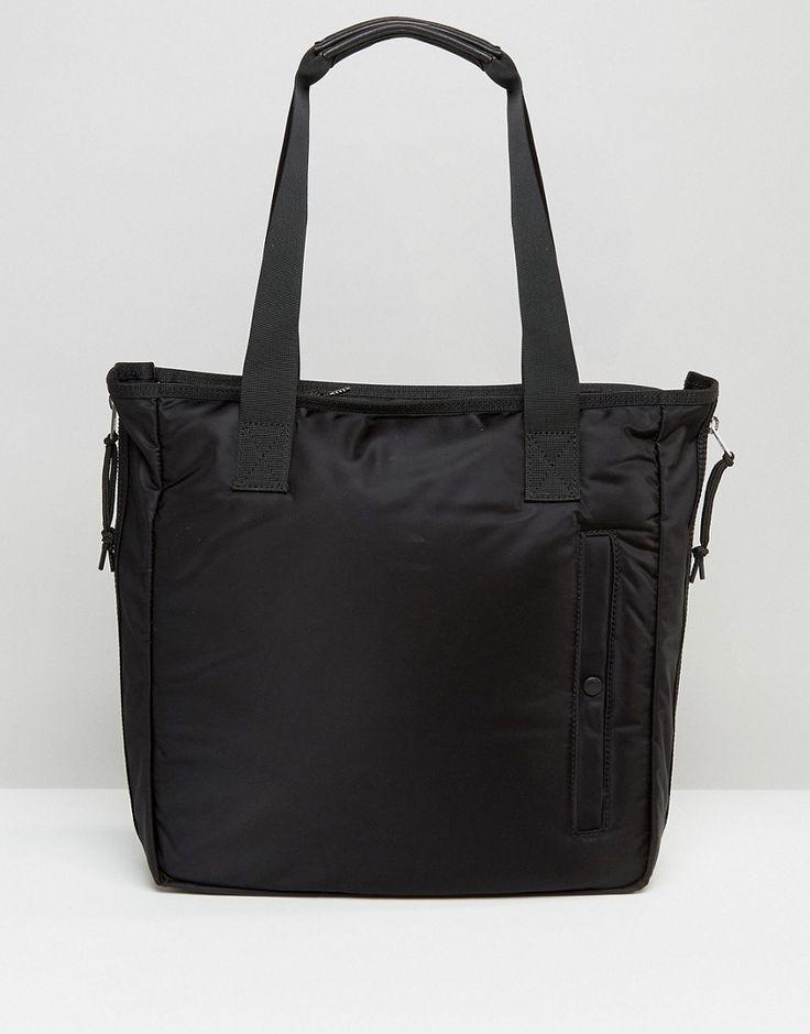 AllSaints Nylon Tote Bag - Black