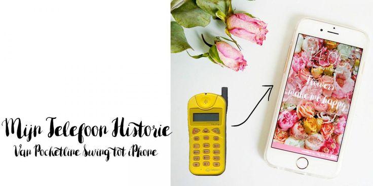 Mijn mobiele telefoon historie | Van Pocketline Swing tot iPhone