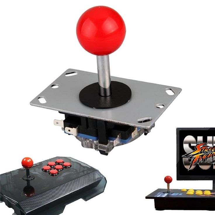 Joystick Red Ball 4/8 Way Fighting Stick Parts for Game Arcade //Price: $12.98 & FREE Shipping //     #gadget #gadgets