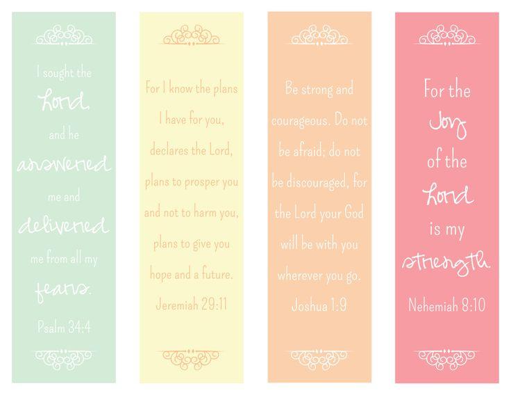 Encouraging Verses Bookmark - The Paper Vine