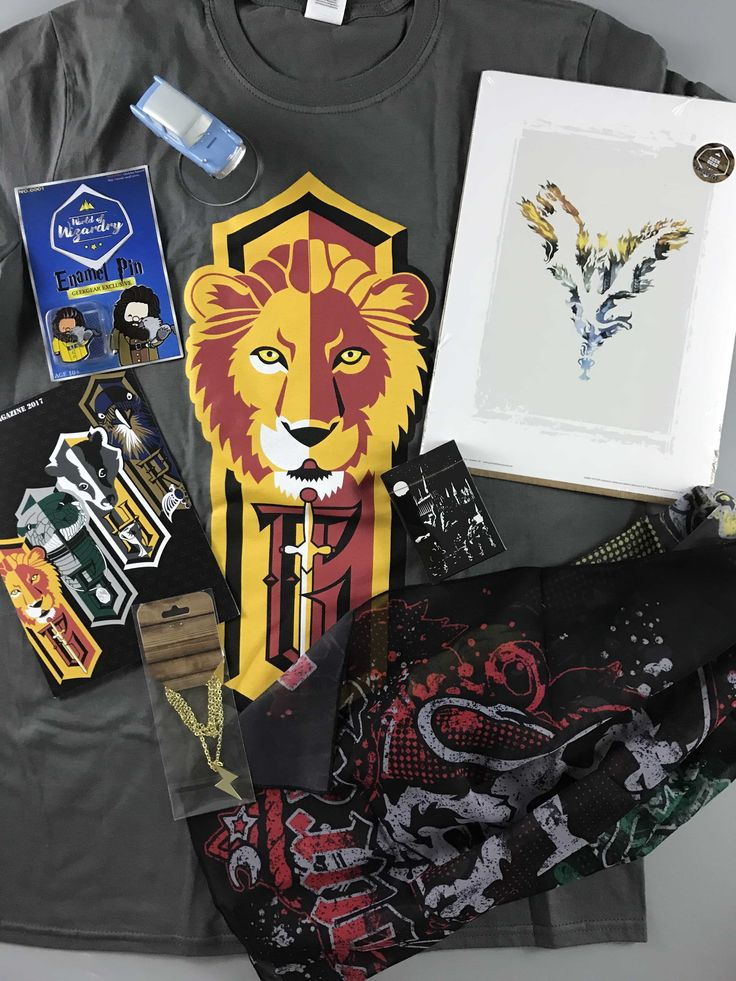 Geek Gear World of Wizardry is a Harry Potter themed subscription. June 2017 box included a necklace and a shirt! See my review for details!   Geek Gear World of Wizardry June 2017 Subscription Box Review →  https://hellosubscription.com/2017/07/geek-gear-world-wizardry-june-2017-subscription-box-review/ #GeekGear #HarryPotter #WorldOfWizardry  #subscriptionbox