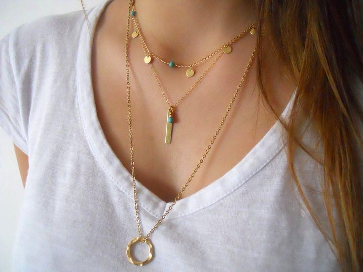 Collier tendance 2017. Bijoux fantaisie tendance. Idée cadeau femme (7)
