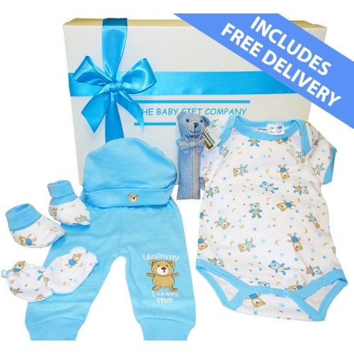 Little Bear Baby Boy Gift Box - Free Delivery